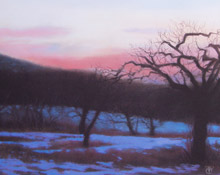 Evening in the Orchard